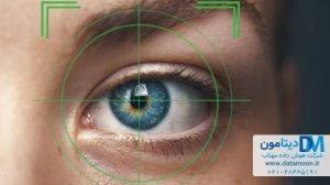 تشخیص هویت با عنبیه چشم