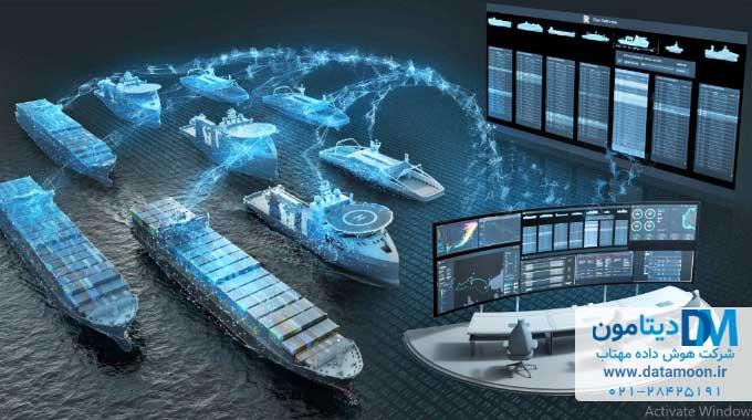 کنترل از راه دور کشتی باربری