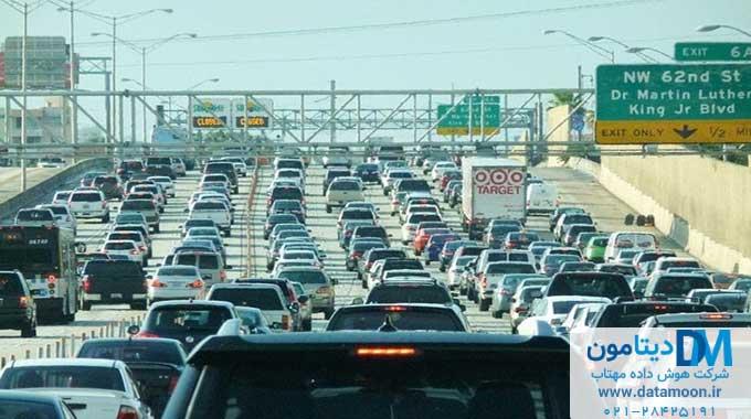 مدیریت ترافیک با هوش مصنوعی
