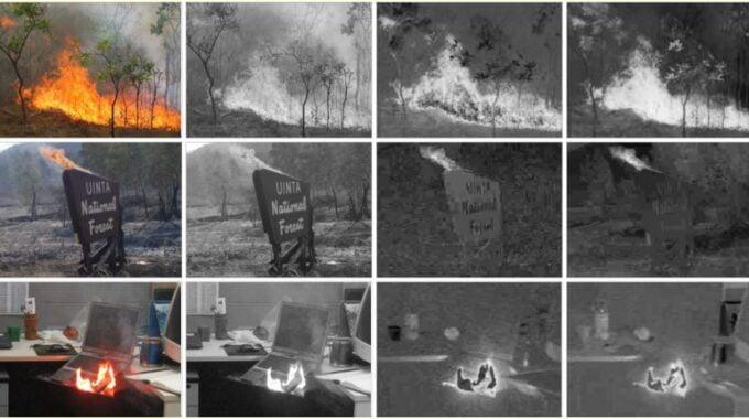شناسایی آتش با کمک پردازش تصویر