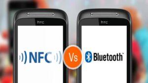 مقایسه بلوتوث و NFC